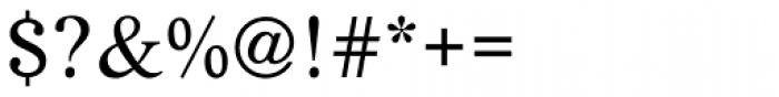 Life Regular Font OTHER CHARS