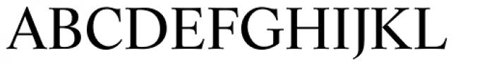 Life Roman Font UPPERCASE