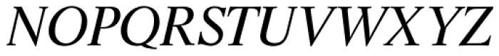 Life SB Italic Font UPPERCASE