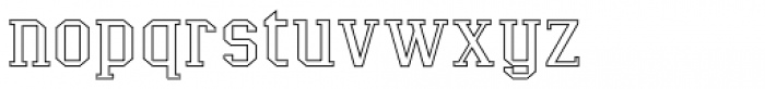 LifeAfterCollege Overlay Wide Middle Font LOWERCASE
