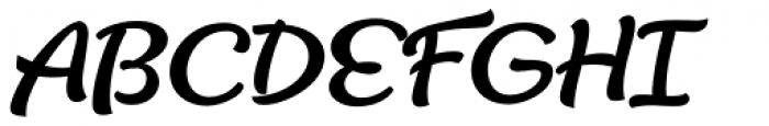Lifehack Italic Bold Font UPPERCASE