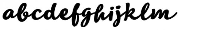 Lifehack Italic Bold Font LOWERCASE