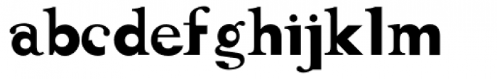 Lifer Font LOWERCASE