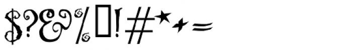 Ligeia Font OTHER CHARS