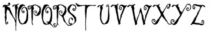 Ligeia Font UPPERCASE