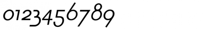 Lightbox SC Italic Font OTHER CHARS