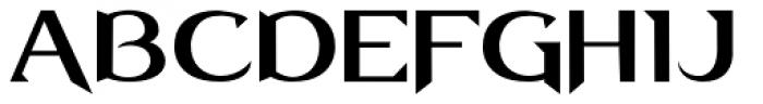 Lightbringer Font UPPERCASE