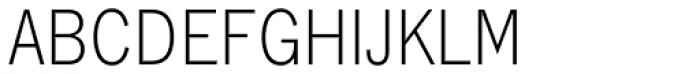 Lightline Gothic EF Font UPPERCASE
