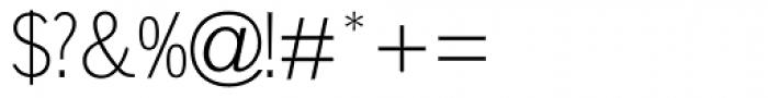 Lightline Gothic MT Font OTHER CHARS
