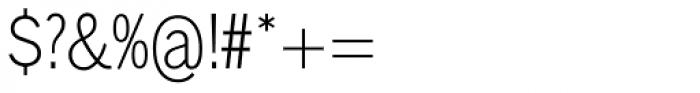 Lightline Gothic Pro Regular Font OTHER CHARS
