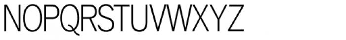 Lightline Gothic Pro Regular Font UPPERCASE