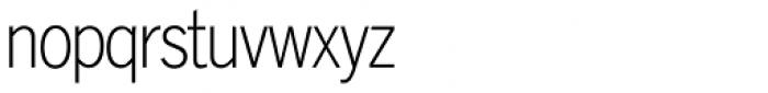 Lightline Gothic Pro Regular Font LOWERCASE