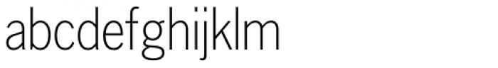 Lightline Gothic Std Font LOWERCASE