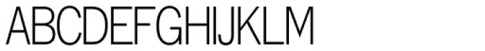 Lightline Gothic Font UPPERCASE