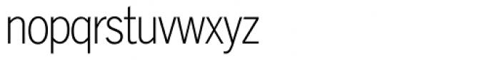 Lightline Gothic Font LOWERCASE