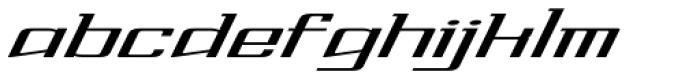 Lightspeed Font LOWERCASE