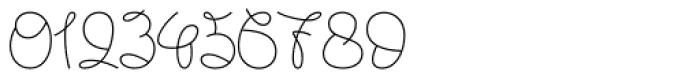 Lignette Script Font OTHER CHARS