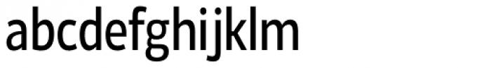 Ligurino Cond Book Font LOWERCASE