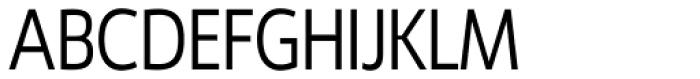 Ligurino Cond Light Font UPPERCASE