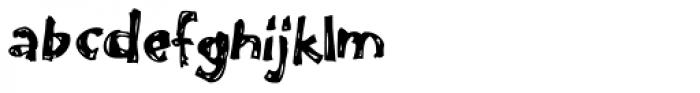Like A Fool Font LOWERCASE