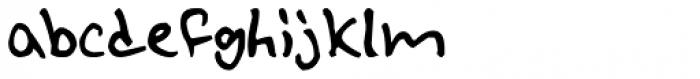 Lil Punk Font LOWERCASE