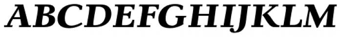 Lila Pro Heavy Font UPPERCASE