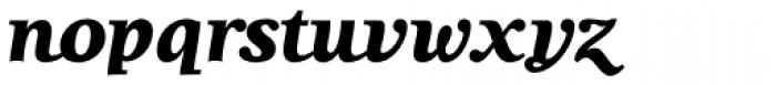 Lila Pro Heavy Font LOWERCASE