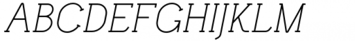Lilette Italic Font UPPERCASE
