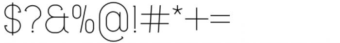 Lilette Light Font OTHER CHARS