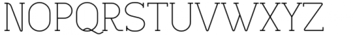 Lilette Light Font UPPERCASE