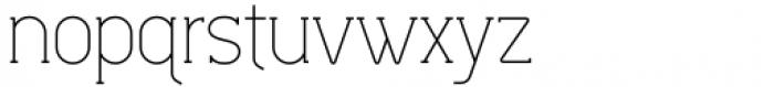 Lilette Light Font LOWERCASE