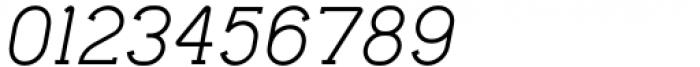 Lilette Medium Italic Font OTHER CHARS