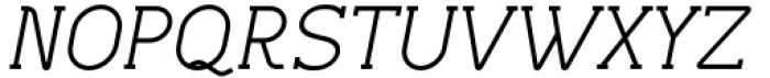 Lilette Medium Italic Font UPPERCASE