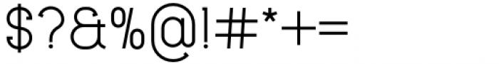 Lilette Medium Font OTHER CHARS