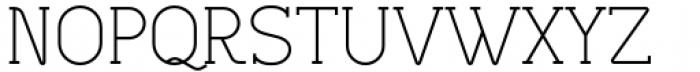 Lilette Regular Font UPPERCASE