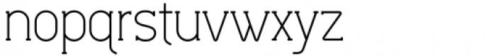Lilette Regular Font LOWERCASE