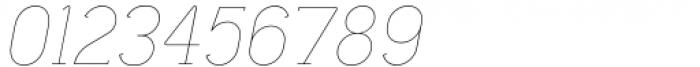 Lilette Ultra Light Italic Font OTHER CHARS