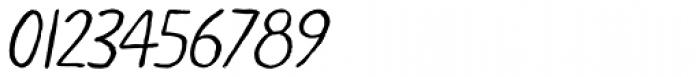 LiliRun Italic Font OTHER CHARS