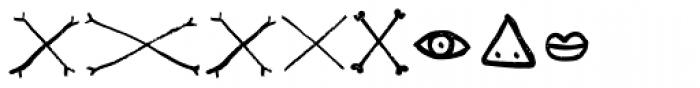 LiliRun Ornament Font OTHER CHARS