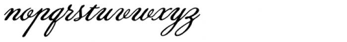Lily Wang Font LOWERCASE