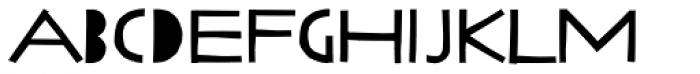 Lilycat Font UPPERCASE