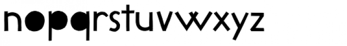 Lilycat Font LOWERCASE