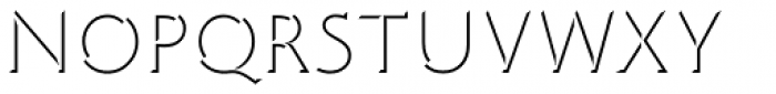 Limine Creux Medium Font UPPERCASE