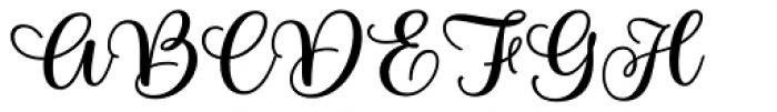 Limon Script Bold Font UPPERCASE