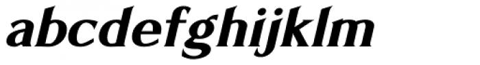 Limonata Bold Italic Font LOWERCASE