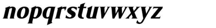 Limonata Condensed Bold Italic Font LOWERCASE