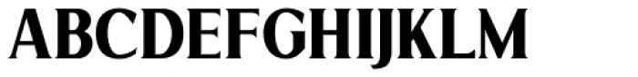 Limonata Condensed Bold Font UPPERCASE