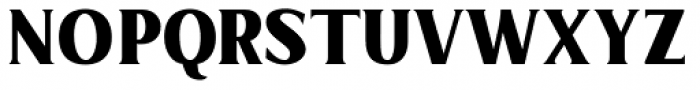Limonata Condensed ExtraBold Font UPPERCASE