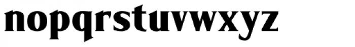 Limonata Condensed ExtraBold Font LOWERCASE