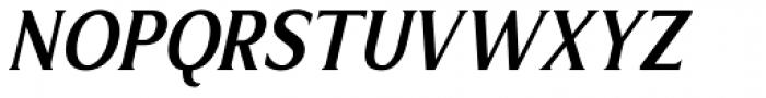 Limonata Condensed Medium Italic Font UPPERCASE